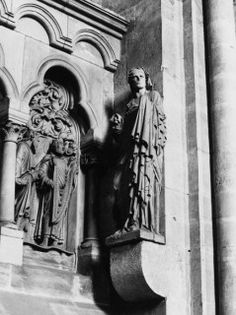 Statue, Bamberg Cathedral, Bamberg, Bavaria, Germany, 13th century