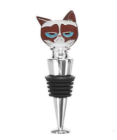 Take a look at this Grumpy Cat Bottle Stopper on zulily today!