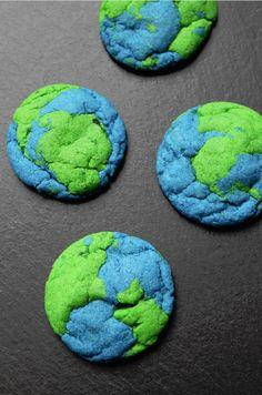 EARTH DAY COOKIES April 10, 2014 By Tammilee 36 Comments