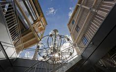 Das Superior Design Hotel in Zermatt Zermatt, Design Hotel, Superior Hotel, Lodges, Fair Grounds, Chandelier, Ceiling Lights, Star, Travel