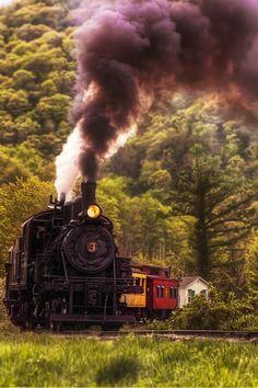 "flitterling: "" Cheat Bridge, West Virginia, by Donnie Nunley """