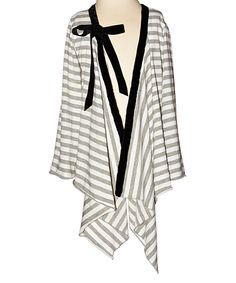 Look at this Magpie & Mabel Smoke Stripe Ava Open Cardigan - Toddler & Girls on #zulily today!