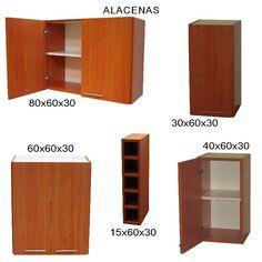 Plano de mueble de melamina proyecto 2 alacena de cocina | Web del Bricolaje Diseño Diy