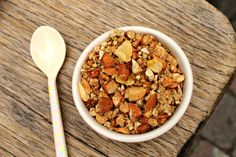 Healthy Maple Buckwheat Granola [gluten-free, vegan]