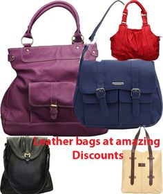 India Violet: Top Peperone Leather Shoulder Bag Collection