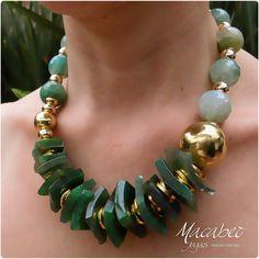 Beaded Jewelry Designs, Bead Jewellery, Necklace Designs, Jewelry Art, Jewelery, Jewelry Necklaces, Handmade Jewelry, Fashion Jewelry, Beaded Bracelets
