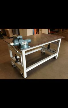 Welding Table, Welding Projects, Drafting Desk, Furniture, Ideas, Home Decor, Homemade Home Decor, Home Furnishings, Thoughts