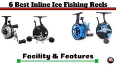 6 Best Inline Ice Fishing Reels 2020 [With Facility] - Attractive Fishing Ice Fishing Gear, Best Fishing Reels, Ice Fishing Rods, Fishing Rigs, Walleye Fishing, Going Fishing, Fly Fishing, Women Fishing, Fishing Tackle