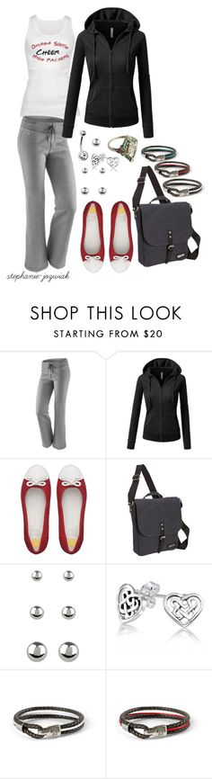 """""""Marnie's Outfit for Day Two of Nationals"""" by stephanie-jozwiak ❤ liked on Polyvore featuring NIKE, J.TOMSON, FitFlop, Kenneth Cole, Accessorize and Bling Jewelry"""