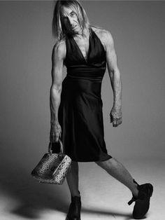 Iggy Pop Dior bag