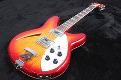 2016 High Quality Popular Price Hot selling model Cherry Sunburst Rick 12 strings 360 model  EMS free shipping