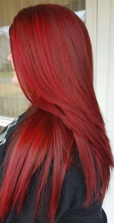 Haarfarbe rot Meine Haare fertig How Would You Like To Design Your Own Ranch House? Dark Red Hair, Long Red Hair, Burgundy Hair, Straight Red Hair, Cherry Red Hair, Hair Dye Colors, Red Hair Color, Cool Hair Color, Red Hair Inspo
