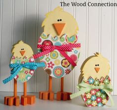 Chick Trio from The Wood Connection