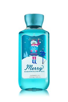 Bath and Body Works- Merry Marshmallow Kiss Shower Gel ♥ this stuff smells so good! Bath N Body Works, Bath And Body Works Perfume, Body Wash, Body Gel, Victoria Secret Fragrances, Body Spray, Smell Good, Shower Gel, Body Lotion