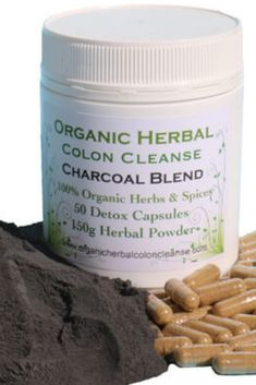 Activated charcoal colon cleanse is specifically blended for people who can't take psyllium. Psyllium Husk Fiber, Detox Herbs, Herbal Colon Cleanse, Detox Organics, Bentonite Clay, Activated Charcoal, Good Job, Cleanses, Herbalism