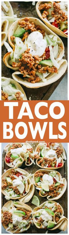 Taco Bowls - Fun and