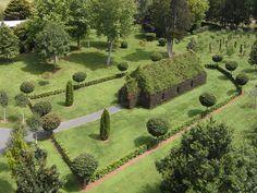 Neozelandês constrói igreja feita de plantas