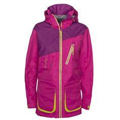 Køb The North Face Panel Padded Jakke Dame i Pink   JD Sports