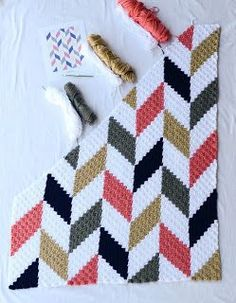 Crochet Afghans 546905948498304946 - Living the Craft Life: Herringbone Blanket – Free Graph Source by Crochet Afghans, Crochet C2c Pattern, C2c Crochet Blanket, Crochet For Beginners Blanket, Crochet Quilt, Tapestry Crochet, Afghan Crochet Patterns, Knitting Patterns, Free Pattern