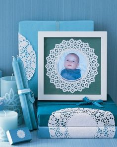 "See the ""Doily Frame"" in our Photo Frame Ideas gallery"