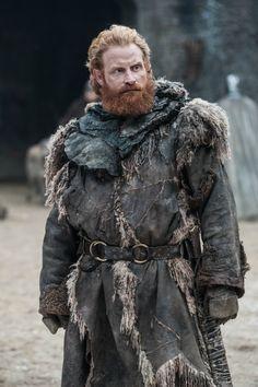 Kristofer Hivju as Tormund Giantsbane in Winterfell. Photo: HBO / Helen Sloan