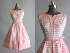 Hey, I found this really awesome Etsy listing at https://www.etsy.com/listing/221991558/vintage-1950s-dress-50s-cotton-dress
