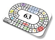 Speel ganzenbord met de tafels om de tafels nog beter te oefenen. Gratis te downloaden vanaf onze website.