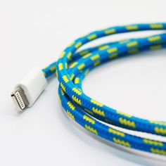 Eastern Collective Cable Lightning Cross stripe, $23. Out of stock at the moment but can't wait to get one for my iPhone.