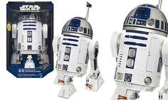 Star Wars Interactive Astromech Droid - Hasbro - Star Wars - Remote And Radio Control Toys at Entertainment Earth Games For Kids, Games To Play, Kids Fun, Transformers, Robot Voice, Toys Uk, Shops, Electronic, Star Wars Toys