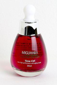 MIGUHARA anti wrinkle effect ampule 35ml anti aging wrinkle care wine color