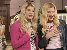 White Chicks came out in 2004 and is about two undercover FBI agents that go out as twin hotel heiresses to protect them from being kidnapped. http://www.imdb.com/title/tt0381707/