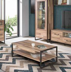 Naturalețea contribuie la crearea unei amenajări unice.  #mobexpert #hotsale #reduceri #mobilier #decoratiuni Coffee Table Styling, Living, Interior, Modern, Homes, Furniture, Collection, Design, Home Decor