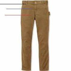 #carharttwomen - Carhartt Slim Fit Crawford Damen HoseEine schlanke, mittellange Damenhose, die sich durch ihre Bewegungsfreiheit auszeichnet. Die Arbeitshosen bieten uneingeschränkte Bewegungsfreiheit, und macht genau das was sie soll. Die Baumwoll-Leinwand-Konstruktion einem Stretchanteil sorgt für einen vollen Bewegungsumfang.Eigenschaften:271 g/m² Baumwolle Strapazierfähige Rugged-Flex-Stretch-Technologie für Bewegungsfreiheit Bund sitzt leicht unterhalb der Taille Eng anliegende… Carhartt, Slim Fit, Khaki Pants, Shirts, Beige, Fitness, Fashion, Technology, Slim