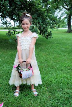 Abigail at Luke and Cheyenne's wedding