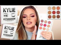KYLIE COSMETICS Burgundy Palette | First Impression & Review | Casey Holmes - YouTube