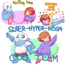 US!verse - Sans & Frisk Ultra Cool Duo!