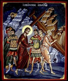 Homilies from the Fathers concerning the Triodion period. Religious Icons, Religious Art, Greek Icons, Life Of Christ, Orthodox Christianity, Orthodox Icons, Symbols, Fathers, Period