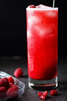 This raspberry margarita is stunning for a holiday party or get together; unless you just want a break after a busy week! eatwell101.com