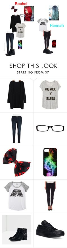 """""""Just being lazy on the tour bus"""" by music-fmx-fanatic ❤ liked on Polyvore featuring H&M, DKNY Jeans, Chico's, Hybrid, True Religion, Zara, Converse and plus size clothing"""