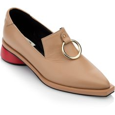 cc742485c648b Reike Nen Ring Square Loafer ( 330) ❤ liked on Polyvore featuring shoes