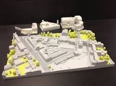 #3d #printed #architectural model. Start making your own 3d prototype now at: http://www.mylocal3dprinting.com. #3dPrintingArchitecture