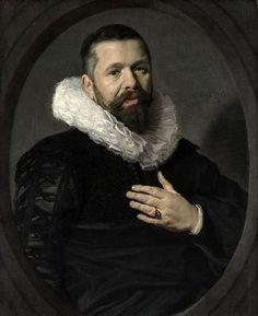 Frans Hals - Portret van een onbekende man (1625)