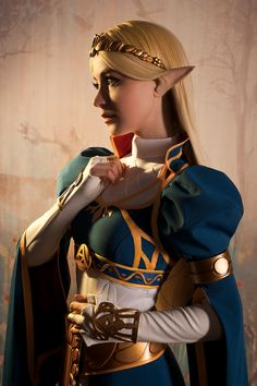 Cosplay Anime Costume Princess Zelda cosplay - More memes, funny videos and pics on Link Cosplay, Cosplay Anime, Cosplay Diy, Cosplay Dress, Cosplay Outfits, Best Cosplay, Cosplay Girls, Video Game Cosplay, Family Cosplay