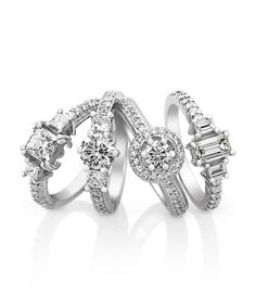 Ice Princess - Jenna Clifford Diamond Engagement rings