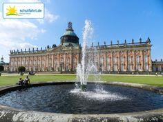 Das Neue Palais im Park Sanssouci. www.schulfahrt.de #Potsdam #Klassenfahrten #Gruppenreisen