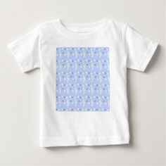 SEAHORSE PATTERN BABY T-Shirt - animal gift ideas animals and pets diy customize