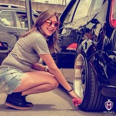 Daisy Dukes, Musa, Car Girls, Luxury Cars, Photo And Video, Instagram, Vw, Beautiful, Golf
