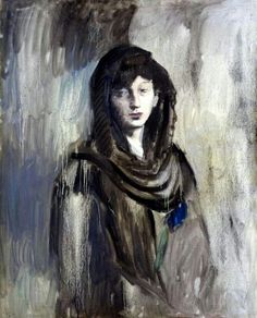 Picasso.Fernanda,con la mantilla negra.(1905-6)