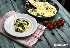 Egyedényes háromsajtos ravioli Tortellini, Ravioli, Camembert Cheese, Lunch, Meat, Chicken, Food, Sunday, Domingo