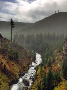 Best hike in Bend Oregon Tumalo Falls